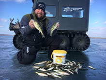 Northern Michigan Ice Fishing