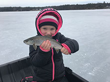 Ice Fishing Bear Lake